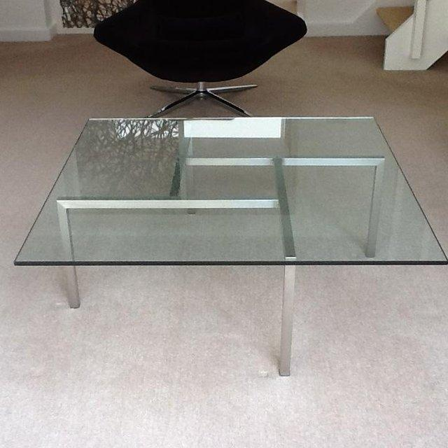 Preview of the first image of Modernist / Retro Glass Coffee Table.