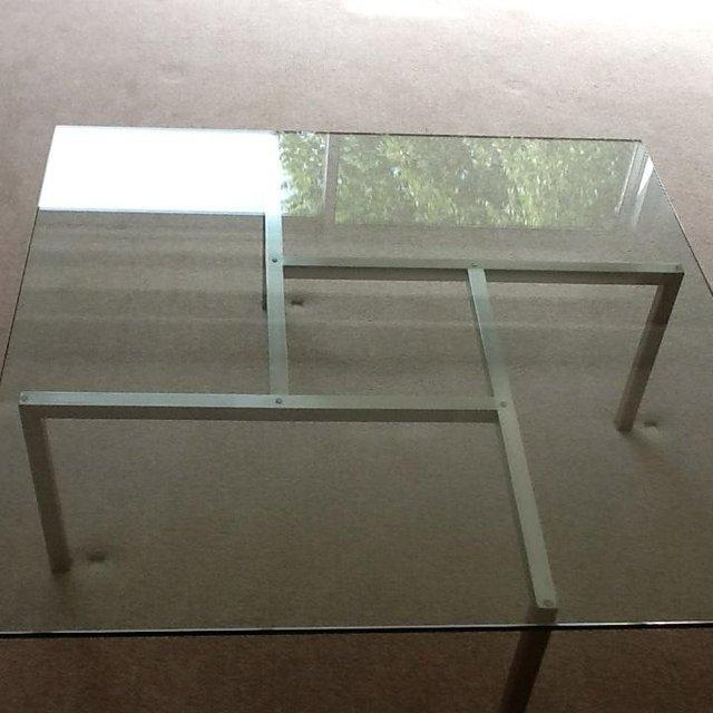 Image 2 of Modernist / Retro Glass Coffee Table
