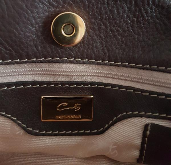 Beautiful Ladies Designer Cowhide Handbag By Coty Of Madrid For Sale ... 9a01d8142034d