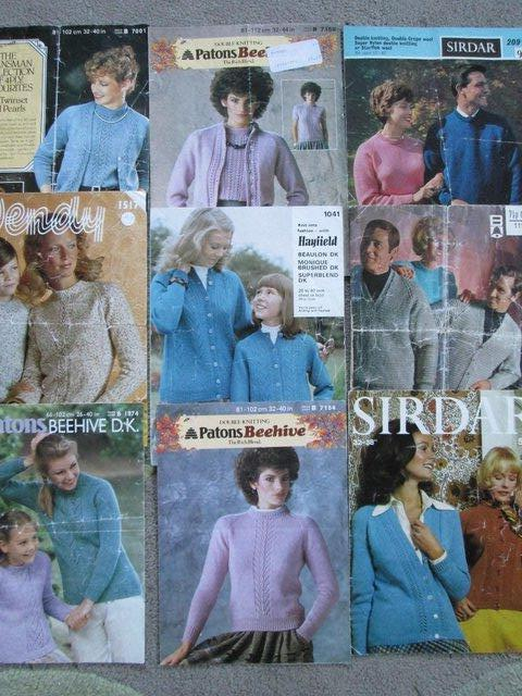 Patons Knitting Patterns Local Classifieds Preloved