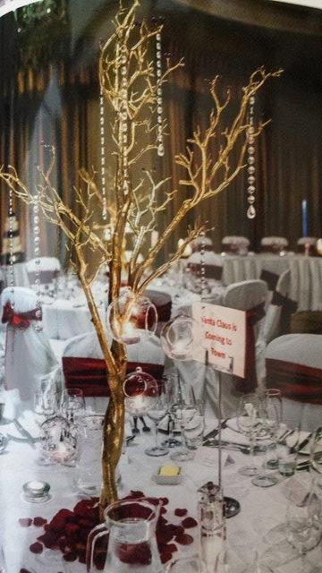 Beautiful Christmas Wedding Decorations