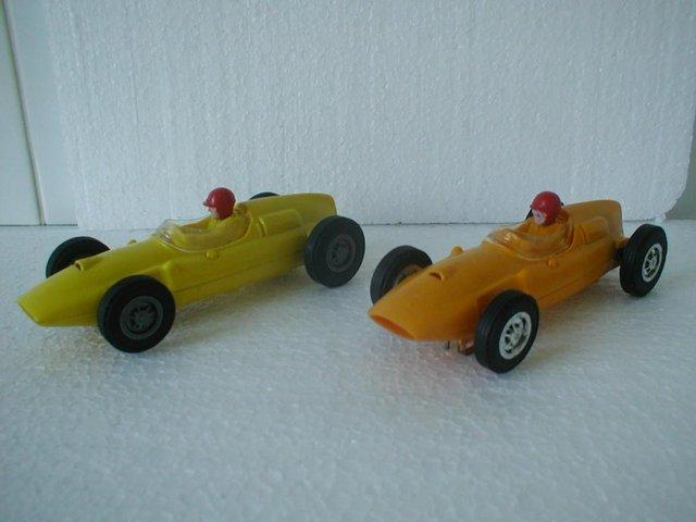 Image 3 of Lionel/Scalextric USA issue 1.32 Slot Cars from early 1960's