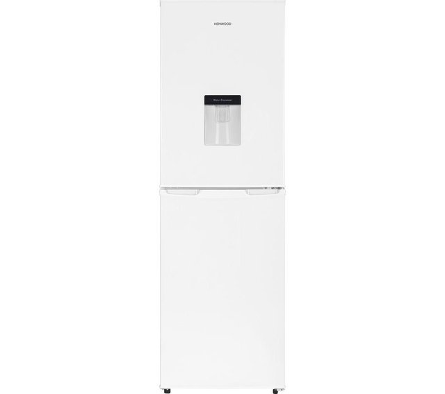 Preview of the first image of KENWOOD WHITE FROST FREE FRIDGE FREEZER WITH DISPENSER-NEW**.