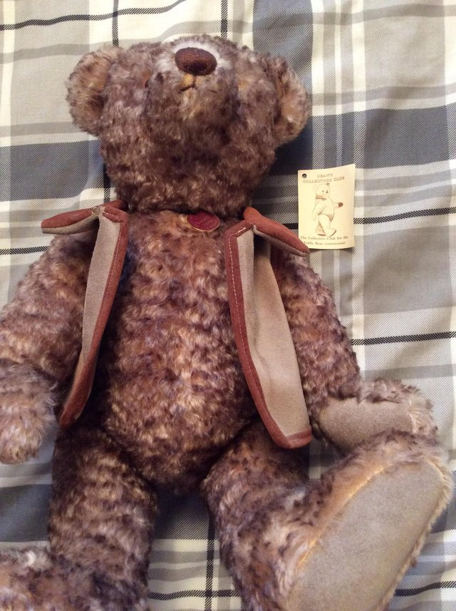 Dolls & Bears Rare Pink Deans Bear Bears