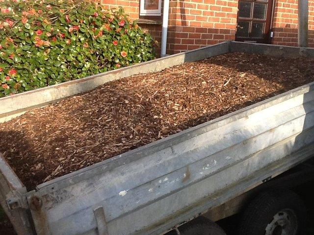 Image 2 of Wood chippings / Woodchip / mulch / bark / garden / chickens