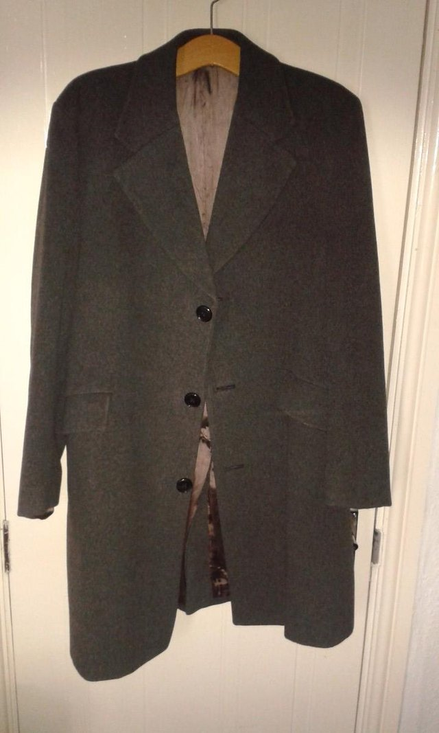 Preview of the first image of Crombie Style Overcoat.