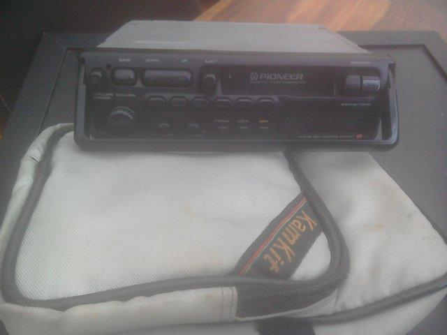 Preview of the first image of PIONEER CAR STEREO RADIO CASSETTE PLAYER.