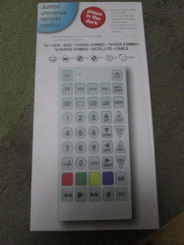 Universal Remote Controls Used Television Satellite And Home