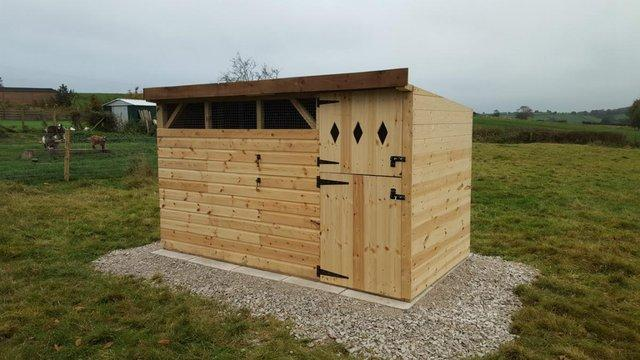 Goat Shed General Purpose Shelter