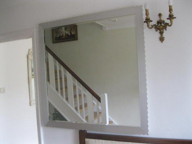 Image 2 of Large Mirror from Heal's (45' x 45' / 115 x 115 cm )