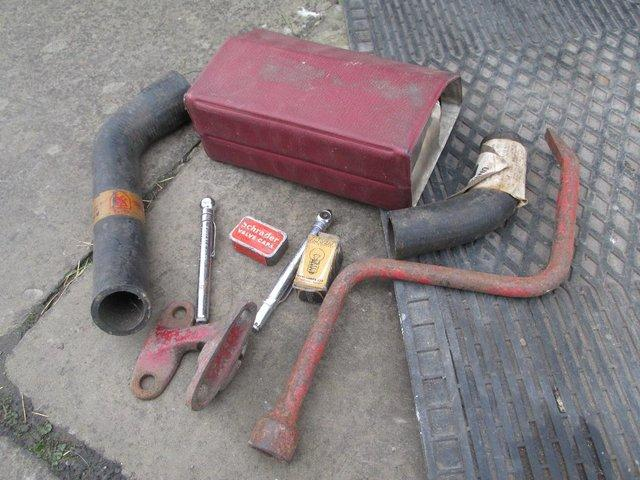 Preview of the first image of Vintage car parts (Rover, Mini,Rootes ,Triumph & Dunlop).