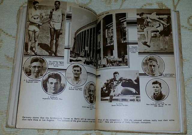 Image 2 of Rare April 1936 Special Olympics Edition Of MINE
