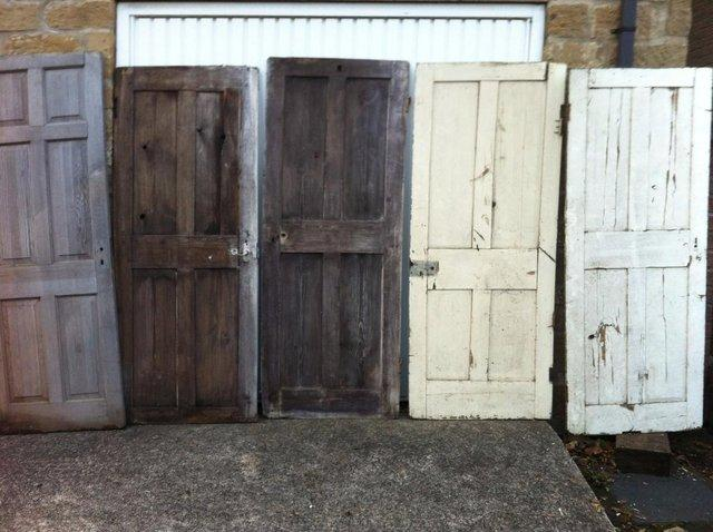 Reclaimed Pine Doors For Sale In Rotherham South