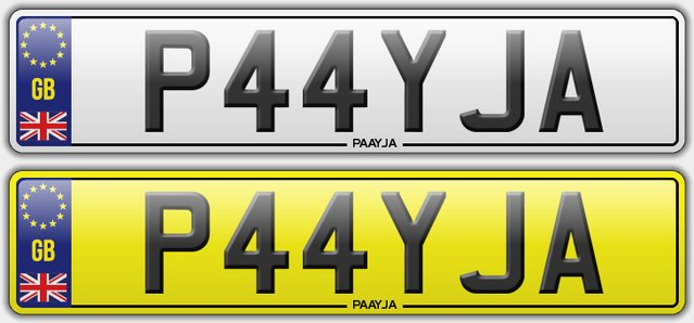 Was asian personalised number plates for that interfere