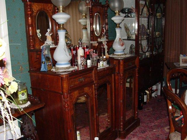 Image 2 of Marble Top Chiffonier