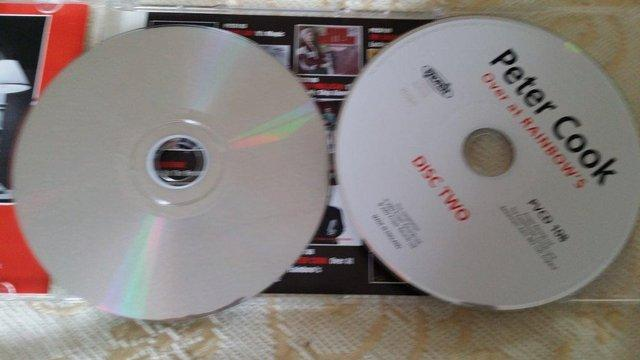 """Image 2 of *RARE* Peter Cook """"Over At Rainbows"""" Double CD As New"""