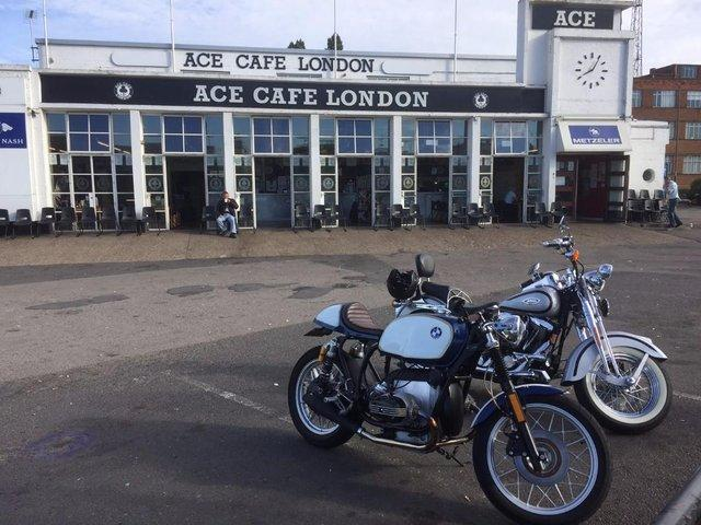 Preview of the first image of One of the best BMW cafe racers in UK.