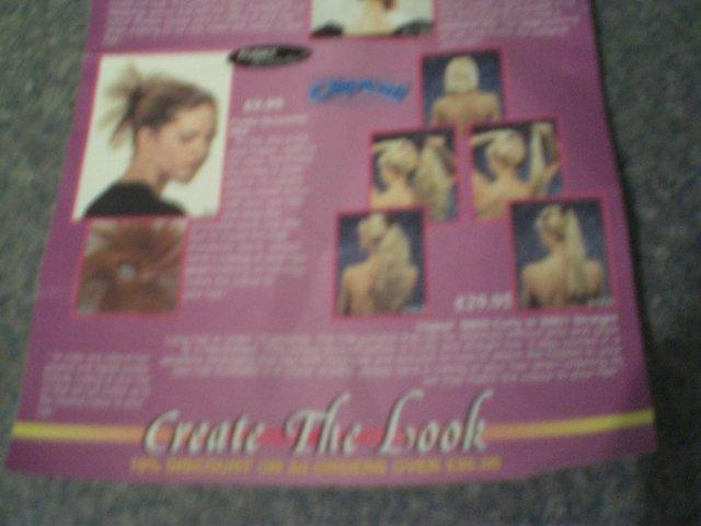 Image 2 of Hair Clip straight hair ponytail - two styles with one quick