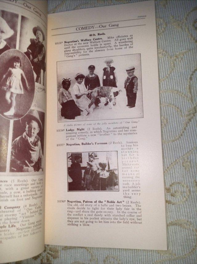Image 4 of 1931 PATHESCOPE Safety Fim Catalogue.