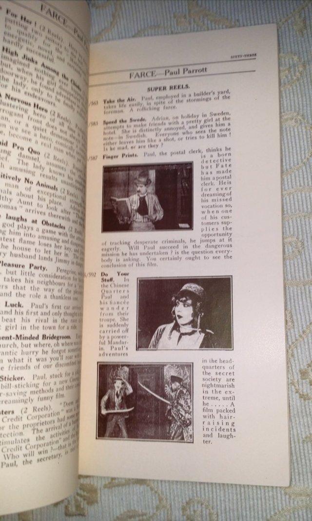 Image 6 of 1931 PATHESCOPE Safety Fim Catalogue.