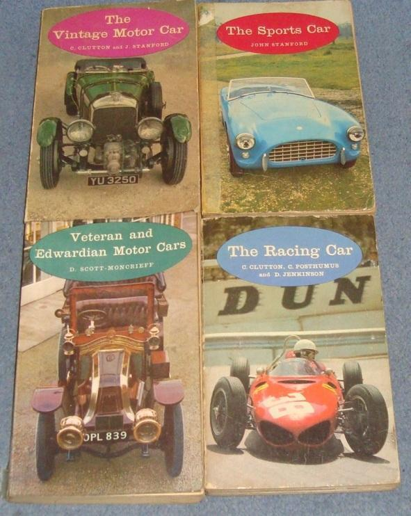 Preview of the first image of 1960's Batsford Set of 4 motoring books.