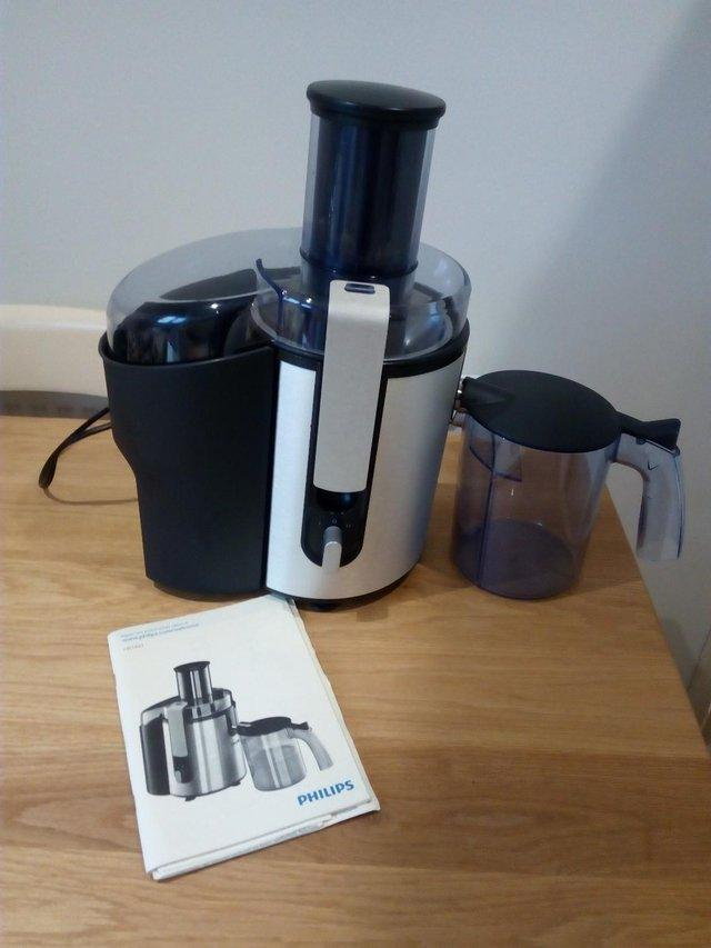 juicer second hand food and drink appliances buy and sell in rh preloved co uk Philips Juicer 1871 philips juicer hr1861 user manual