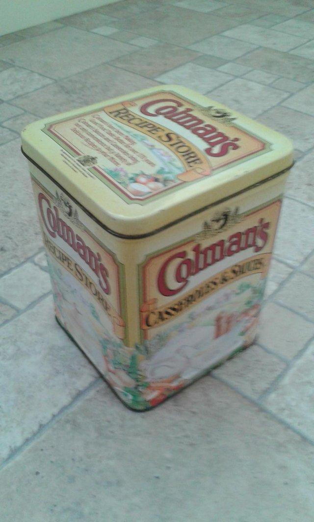 Image 2 of KITCHINALIA, Colemans Recipe Tin