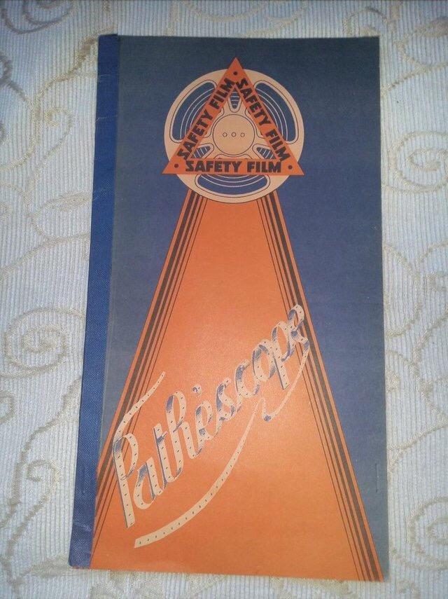 Image 14 of 1931 PATHESCOPE Safety Fim Catalogue.