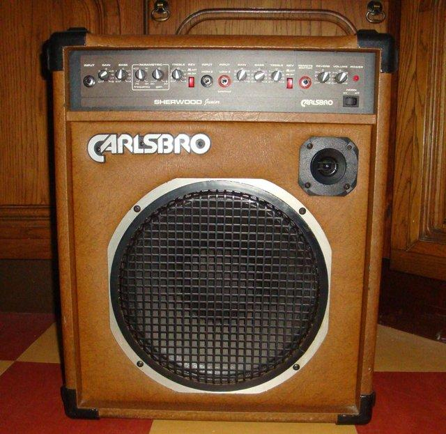Image 2 of Carlsbro Sherwood Junior Semi-acoustic Guitar Amp