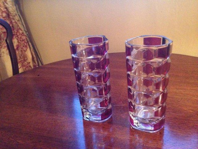 Vintage Glass Vases Collectible China And Glass Buy And Sell