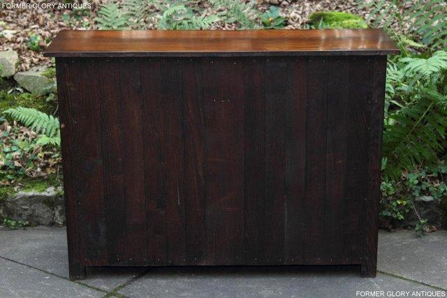 Image 4 of A TITCHMARSH & GOODWIN OAK DRESSER BASE SIDEBOARD HALL TABLE