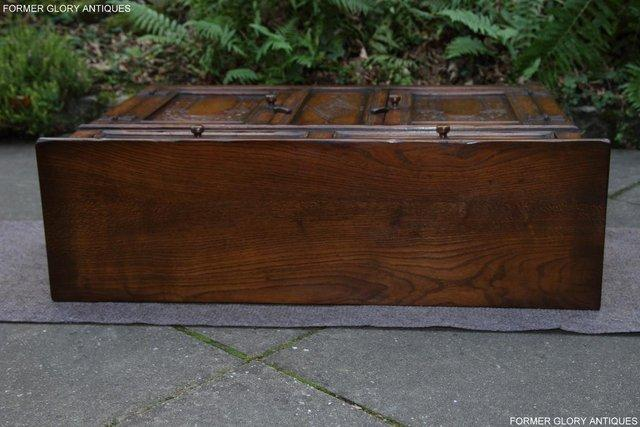 Image 9 of A TITCHMARSH & GOODWIN OAK DRESSER BASE SIDEBOARD HALL TABLE