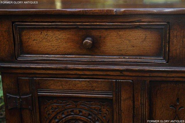 Image 11 of A TITCHMARSH & GOODWIN OAK DRESSER BASE SIDEBOARD HALL TABLE