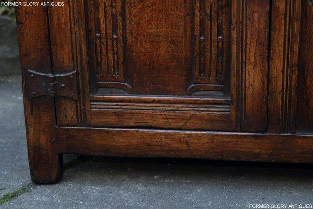 Image 36 of A TITCHMARSH & GOODWIN OAK DRESSER BASE SIDEBOARD HALL TABLE