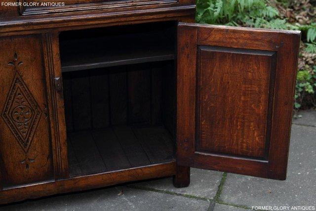 Image 40 of A TITCHMARSH & GOODWIN OAK DRESSER BASE SIDEBOARD HALL TABLE