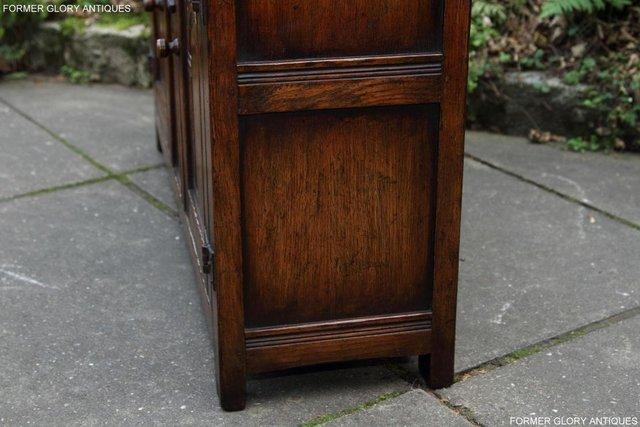 Image 56 of A TITCHMARSH & GOODWIN OAK DRESSER BASE SIDEBOARD HALL TABLE