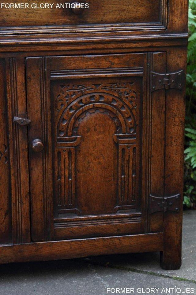 Image 58 of A TITCHMARSH & GOODWIN OAK DRESSER BASE SIDEBOARD HALL TABLE