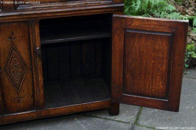 Image 59 of A TITCHMARSH & GOODWIN OAK DRESSER BASE SIDEBOARD HALL TABLE