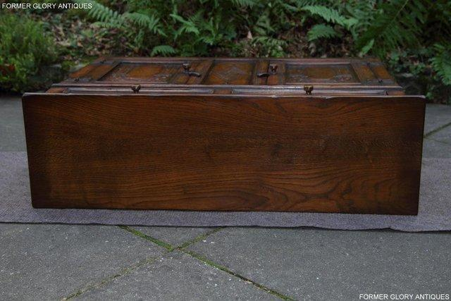 Image 60 of A TITCHMARSH & GOODWIN OAK DRESSER BASE SIDEBOARD HALL TABLE