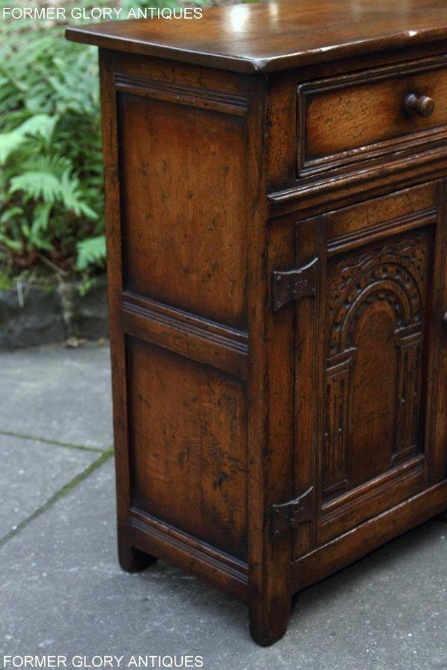 Image 67 of A TITCHMARSH & GOODWIN OAK DRESSER BASE SIDEBOARD HALL TABLE