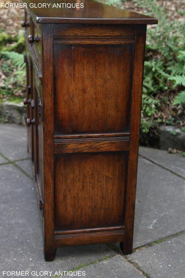 Image 71 of A TITCHMARSH & GOODWIN OAK DRESSER BASE SIDEBOARD HALL TABLE