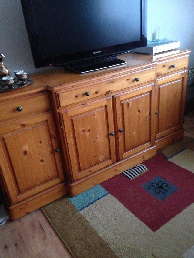 Image 2 of DUCAL Solid Cherry Pine Sideboard