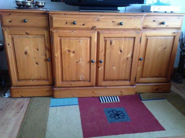 Image 3 of DUCAL Solid Cherry Pine Sideboard