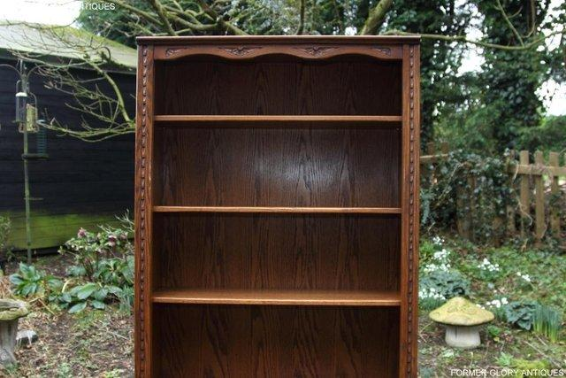Image 10 of JAYCEE OLD CHARM OPEN BOOKCASE CHEST OF DRAWERS CD SHELVES