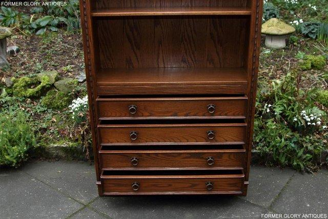 Image 30 of JAYCEE OLD CHARM OPEN BOOKCASE CHEST OF DRAWERS CD SHELVES