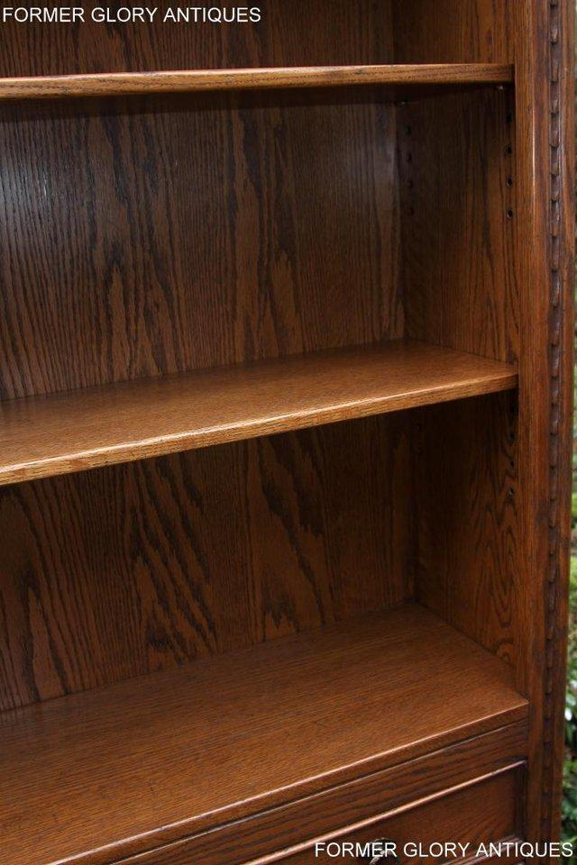 Image 33 of JAYCEE OLD CHARM OPEN BOOKCASE CHEST OF DRAWERS CD SHELVES