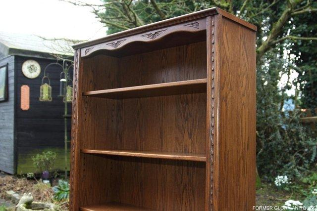 Image 35 of JAYCEE OLD CHARM OPEN BOOKCASE CHEST OF DRAWERS CD SHELVES