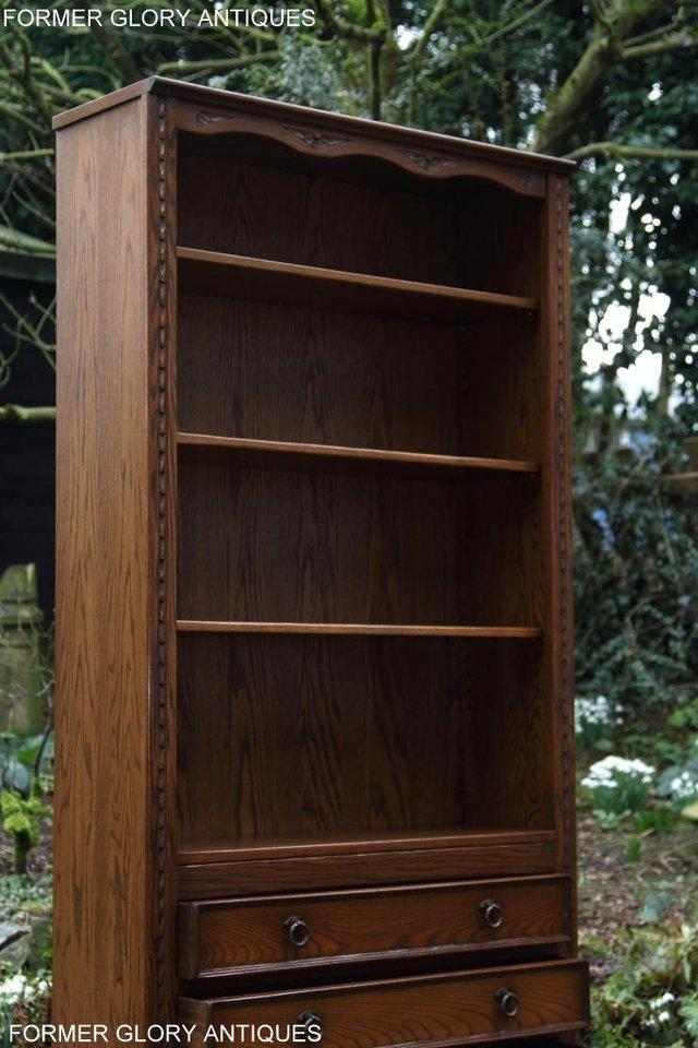 Image 36 of JAYCEE OLD CHARM OPEN BOOKCASE CHEST OF DRAWERS CD SHELVES