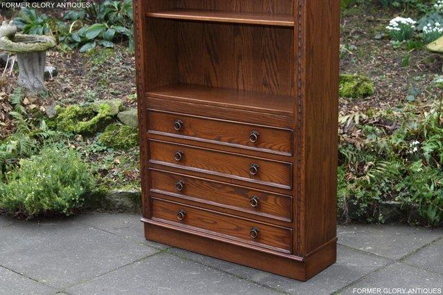 Image 39 of JAYCEE OLD CHARM OPEN BOOKCASE CHEST OF DRAWERS CD SHELVES