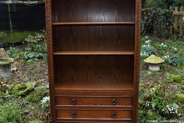 Image 42 of JAYCEE OLD CHARM OPEN BOOKCASE CHEST OF DRAWERS CD SHELVES